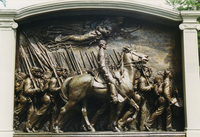 Robert Gould Shaw and Massachusetts 54th Regiment Memorial (Boston, MA)