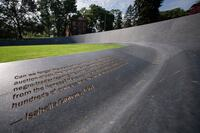 Memorial for Enslaved Laborers (The University of Virginia, Charlottesville, VA)