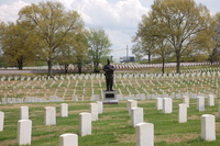 United States Colored Troops National Monument_TN_Full Length with gravemarkers.JPG